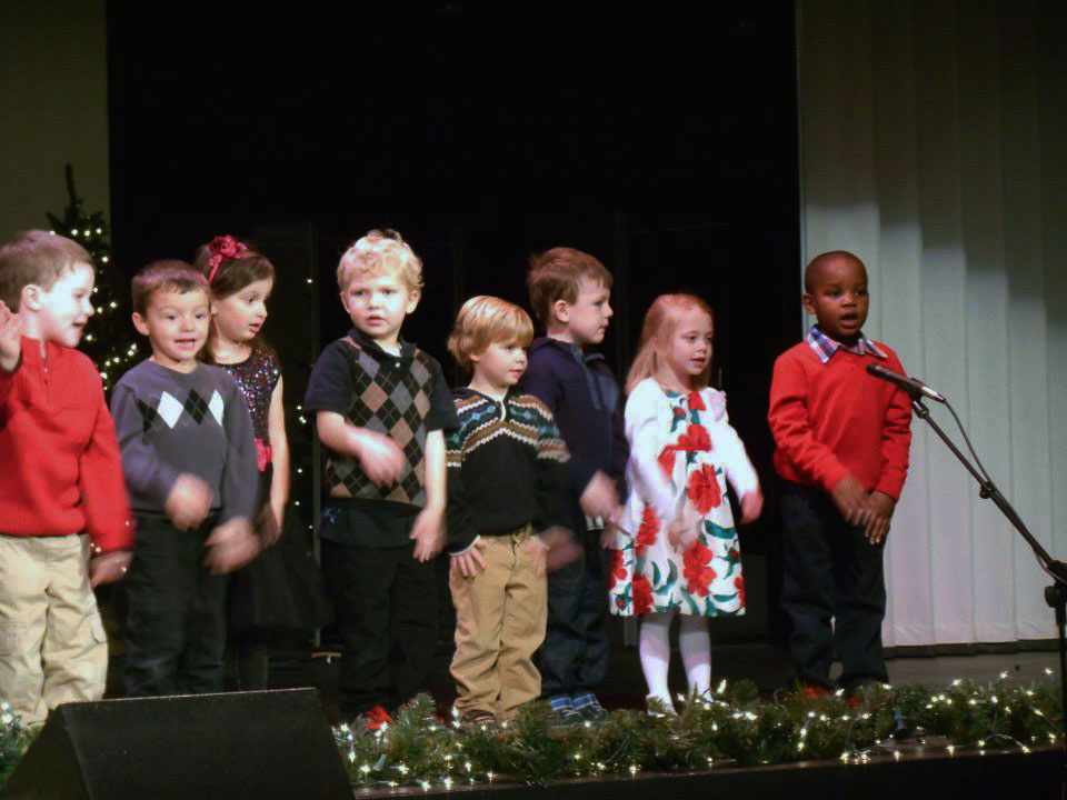 children at a show at a Preschool & Daycare Serving Carmel, Indiana