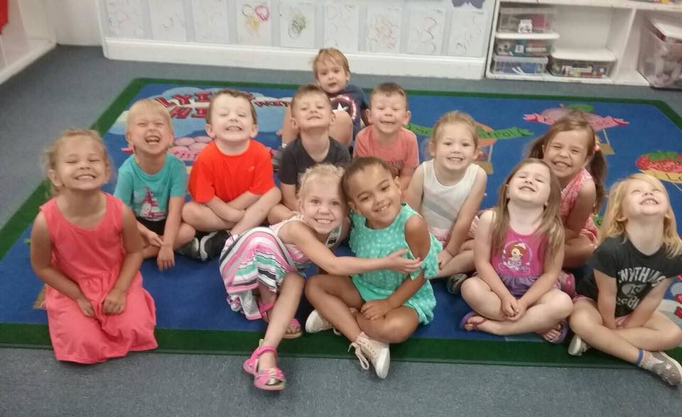 happy children in class at a Preschool & Daycare Serving Carmel, Indiana