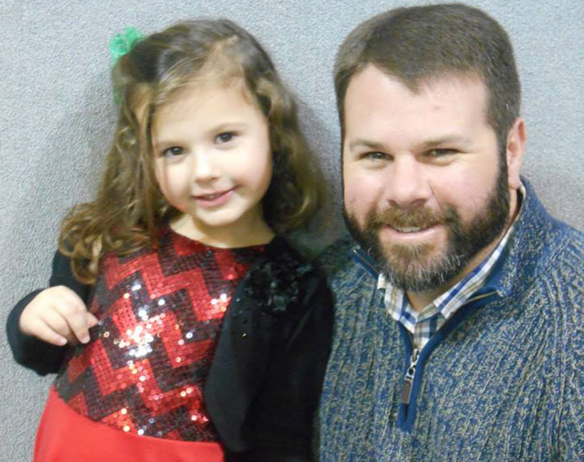 happy girl and dad at a Preschool & Daycare Serving Carmel, Indiana